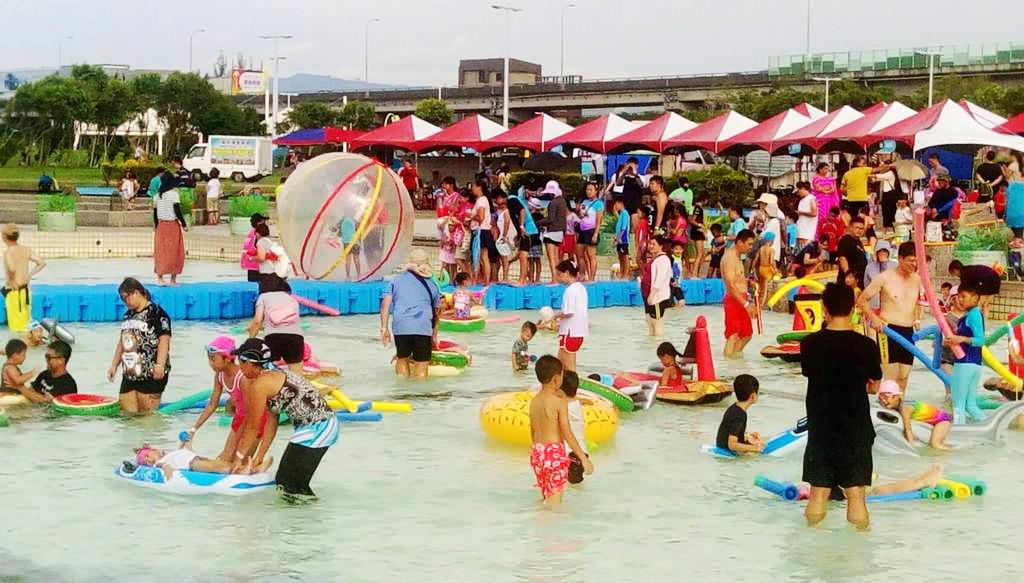 (2018台北河岸童樂會資料照 圖片來源:台北旅遊網)