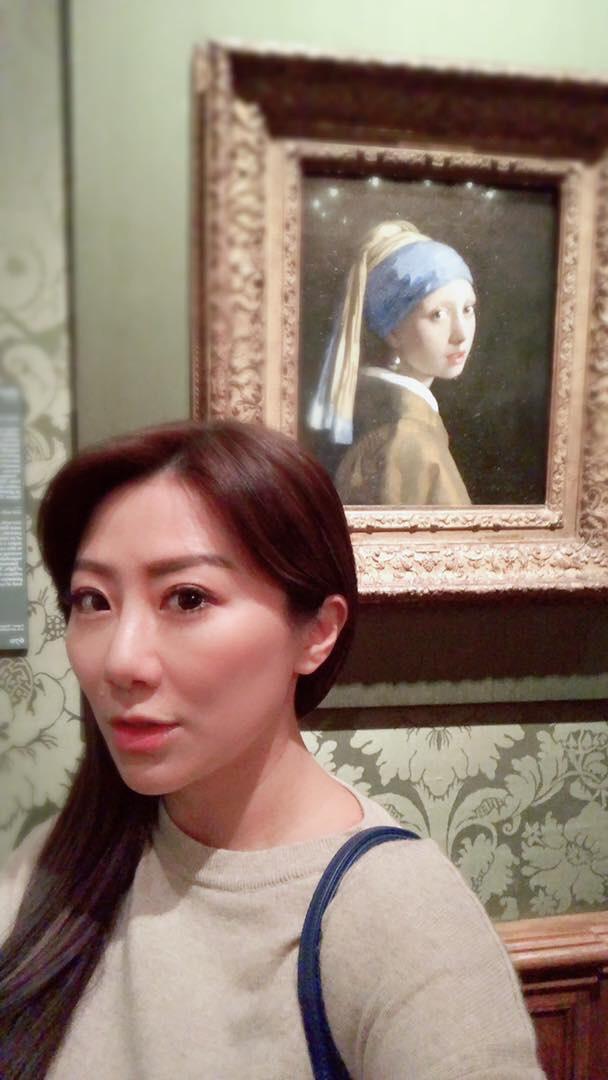 ▲王祚軒熱愛藝術品,因此這次他們也安排參觀兩個博物館。