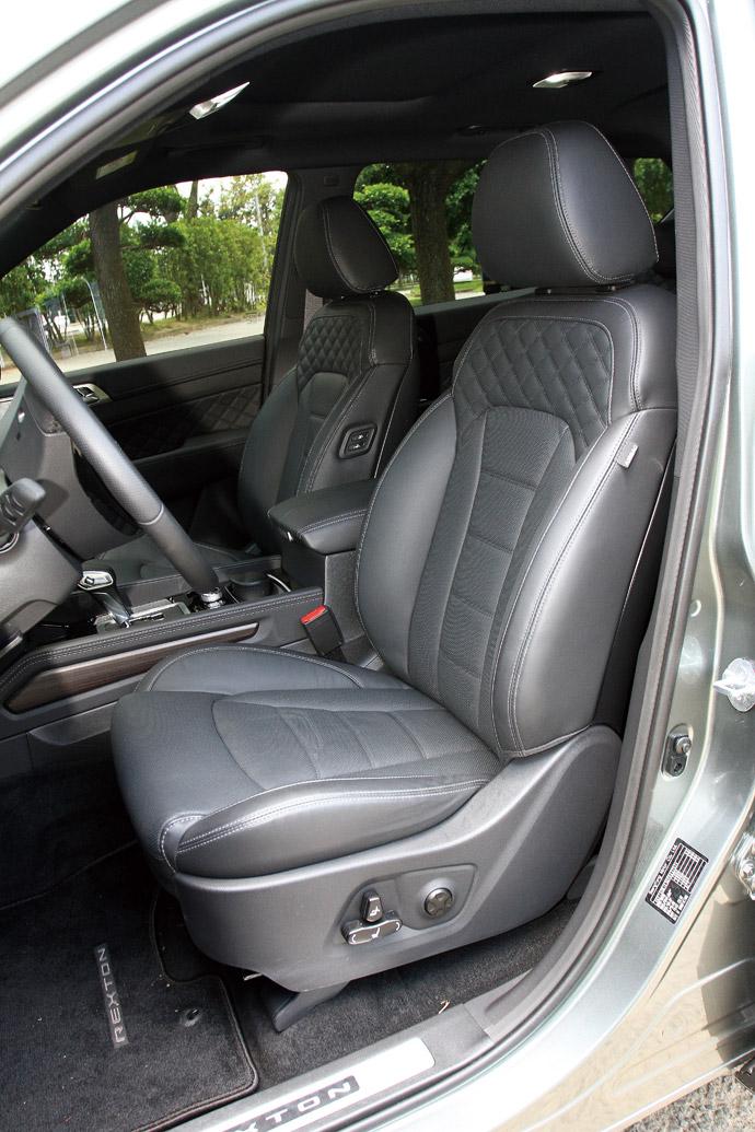 座艙有舒適Nappa皮革座椅,除了座椅可多向調整外,還具備冷熱通風的功能。 版權所有/汽車視界