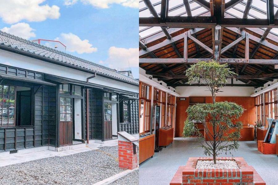 在這裡可以看到,將歷史建築重現的日式宿舍。