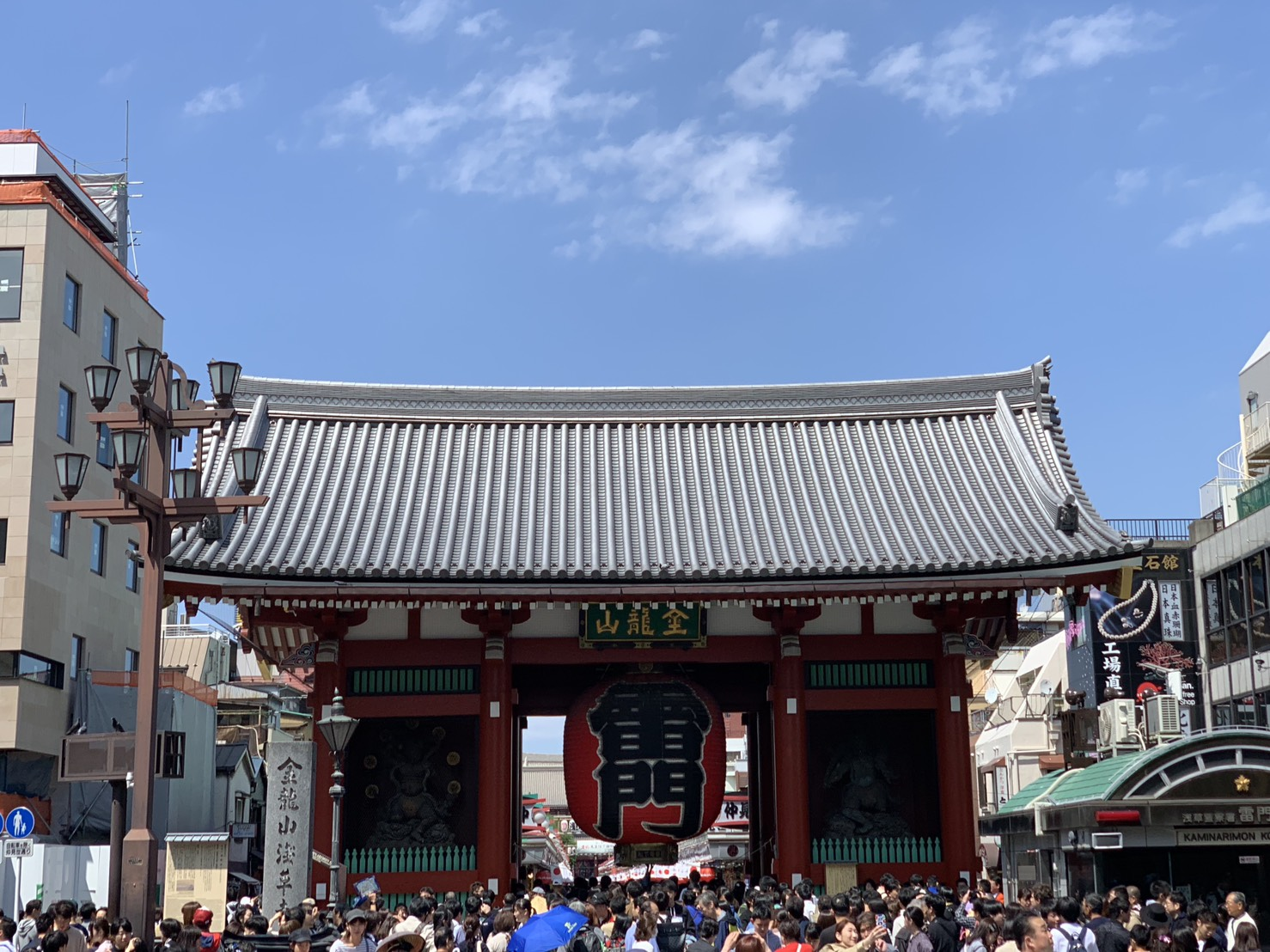 淺草雷門寺是東京最著名的觀光景點