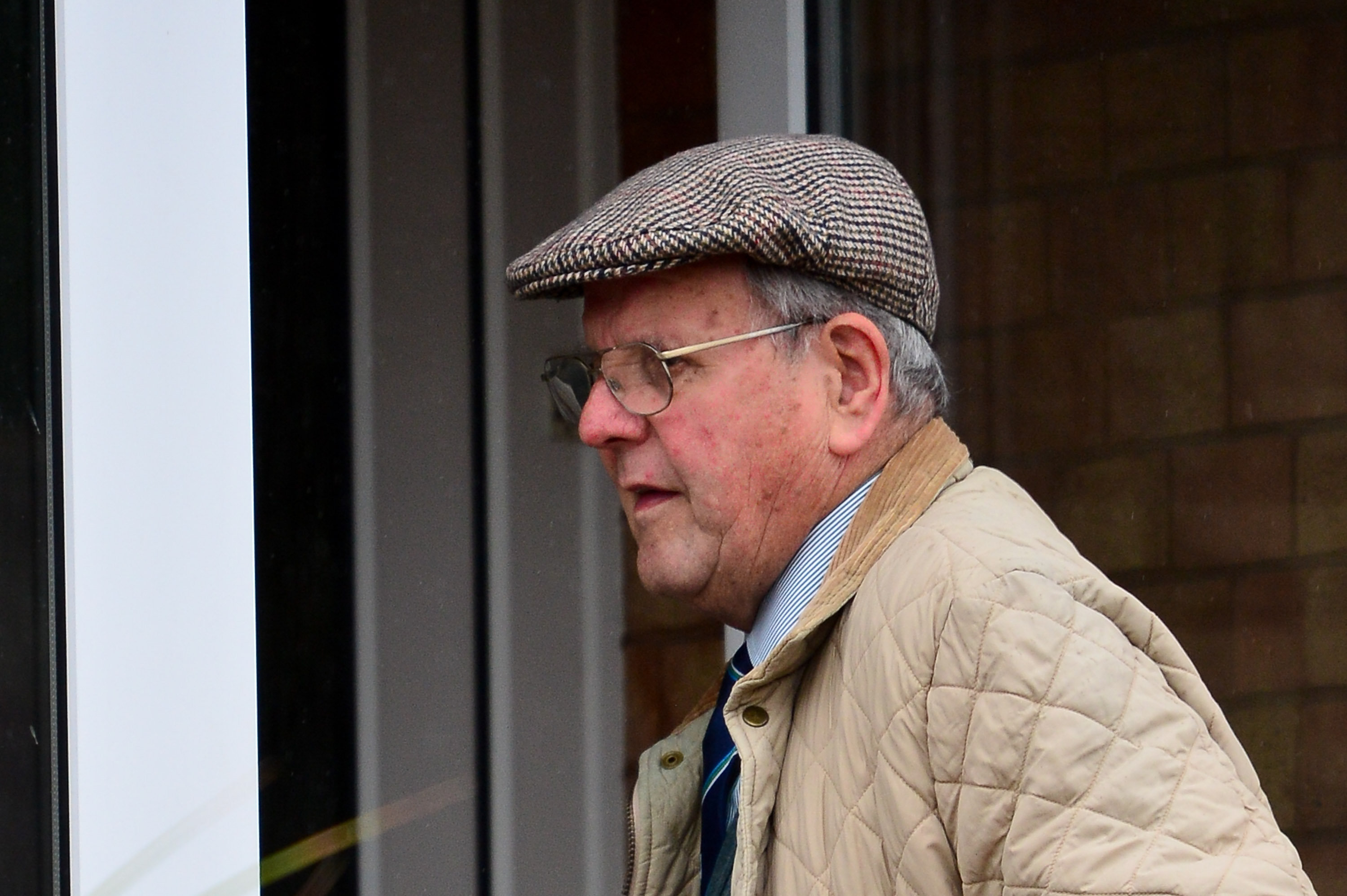 David Venables, now 86, gave no comment on reports the human remains at his former home are those of his wife (Picture: SWNS)