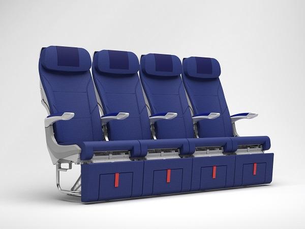 ▲日籍航空首度引進的ANA COUCHii沙發式座椅(圖/ANA)