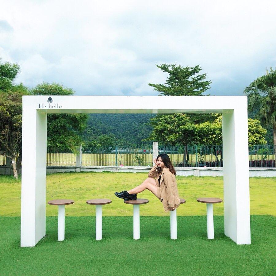 園內還有不少裝飾佈景,提供大家拍照。