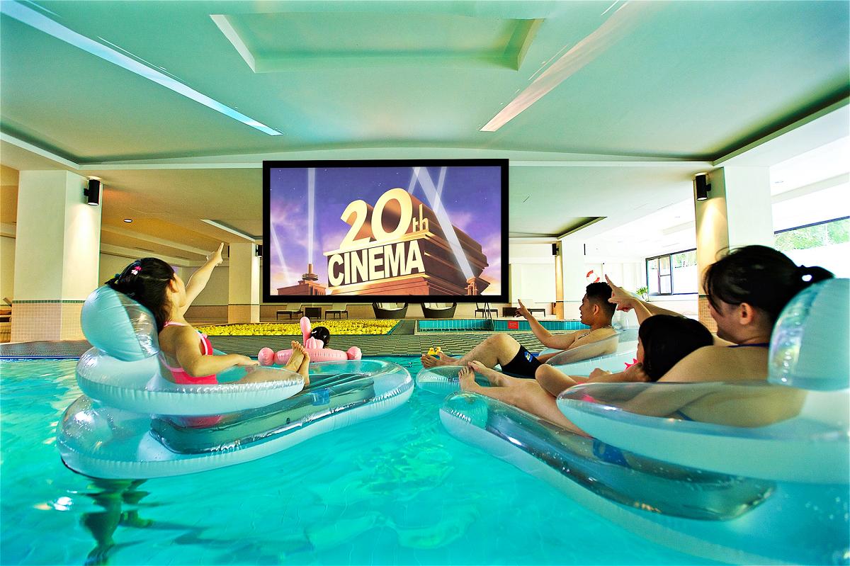 兒童水上電影院 (圖片來源:太魯閣晶英酒店)