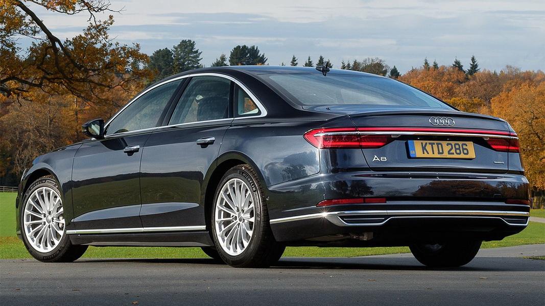 圖/Audi A8 50 TDI Quattro採用V6柴油渦輪增壓引擎、搭配48V電氣子系統,最大可榨出286匹馬力與61.2kgm最大扭力。