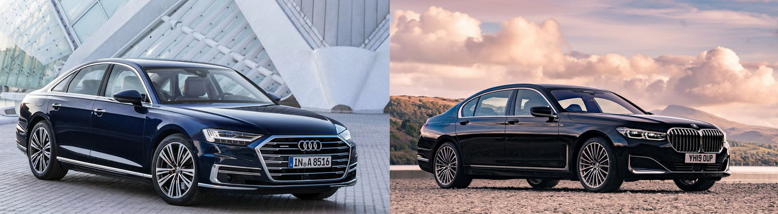 圖 / Audi A8 50 TDI quattro與BMW 7-Series(NEW) 730i之旗艦房車對決