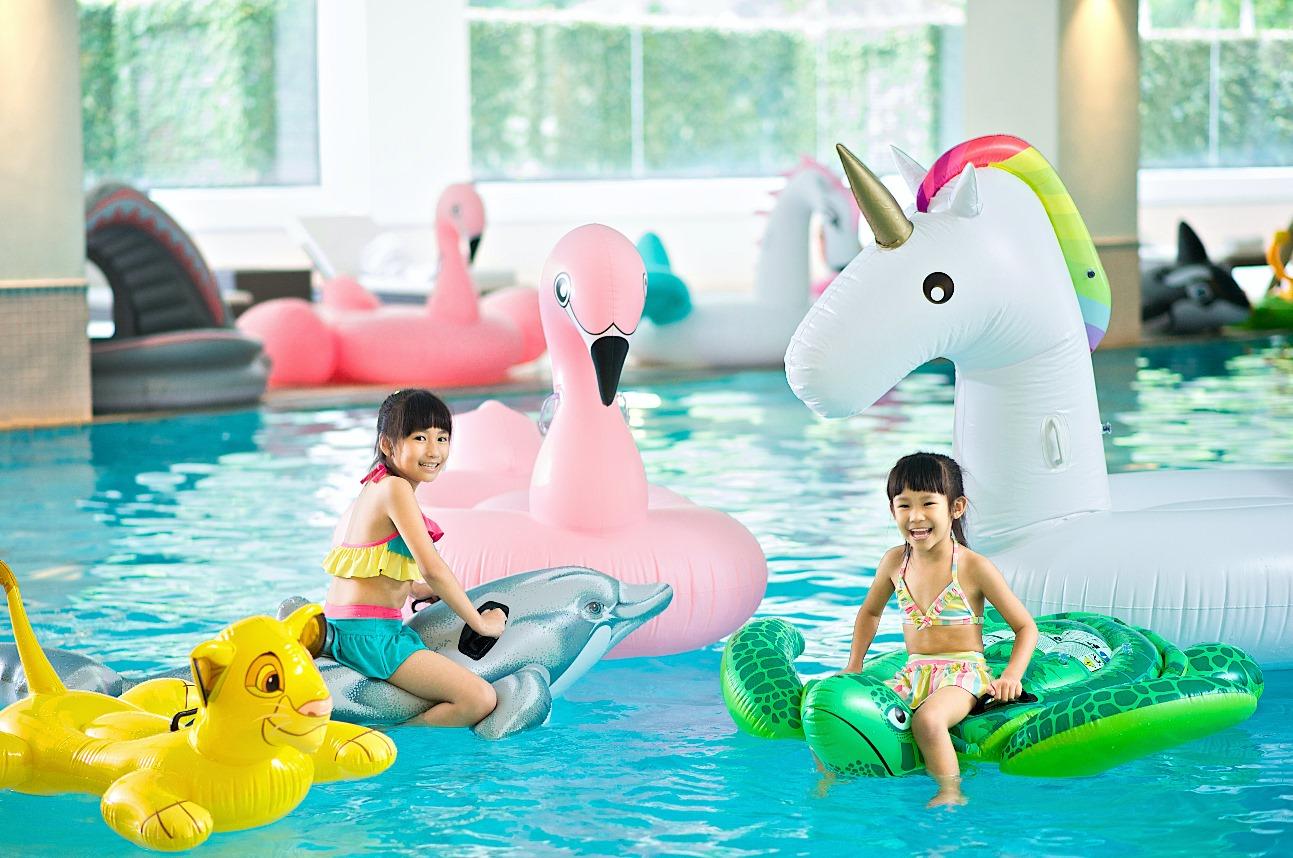 B1的室內泳池 (圖片來源:太魯閣晶英酒店)