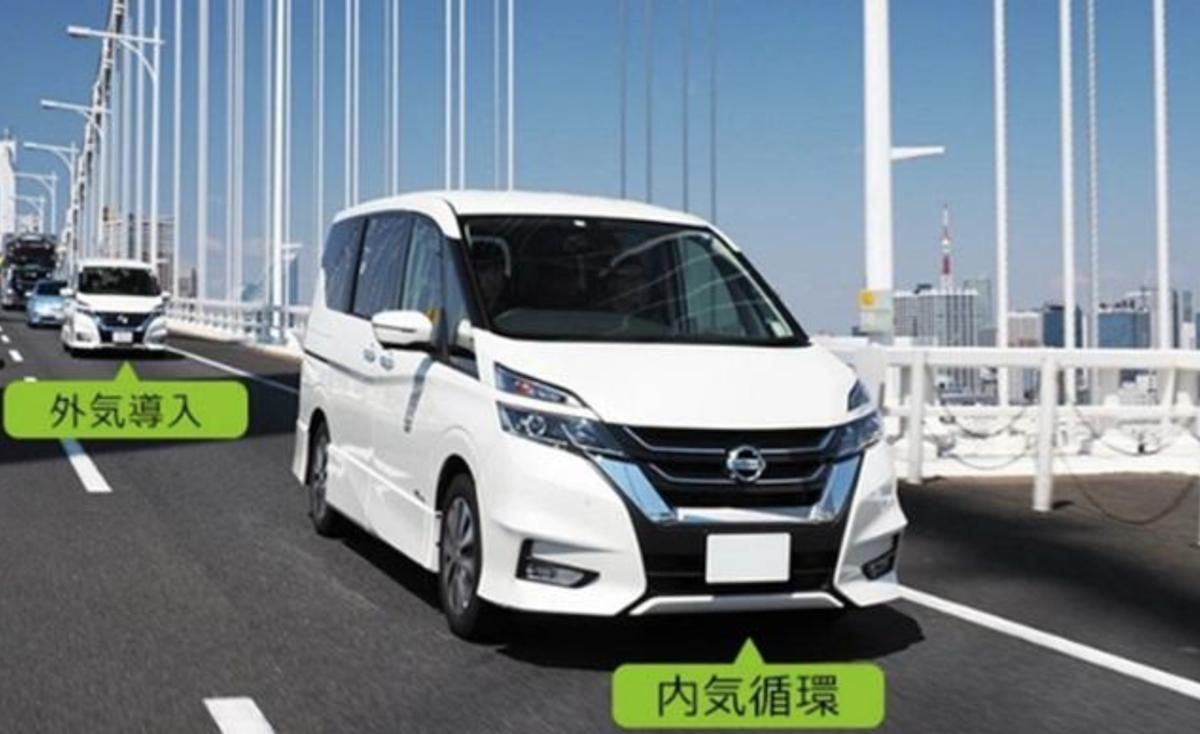 日本自動車協會(JAF)針對三種路段,車內搭乘四位乘客,以 1 個小時行駛時間,來分別檢測兩種循環的空調系統。