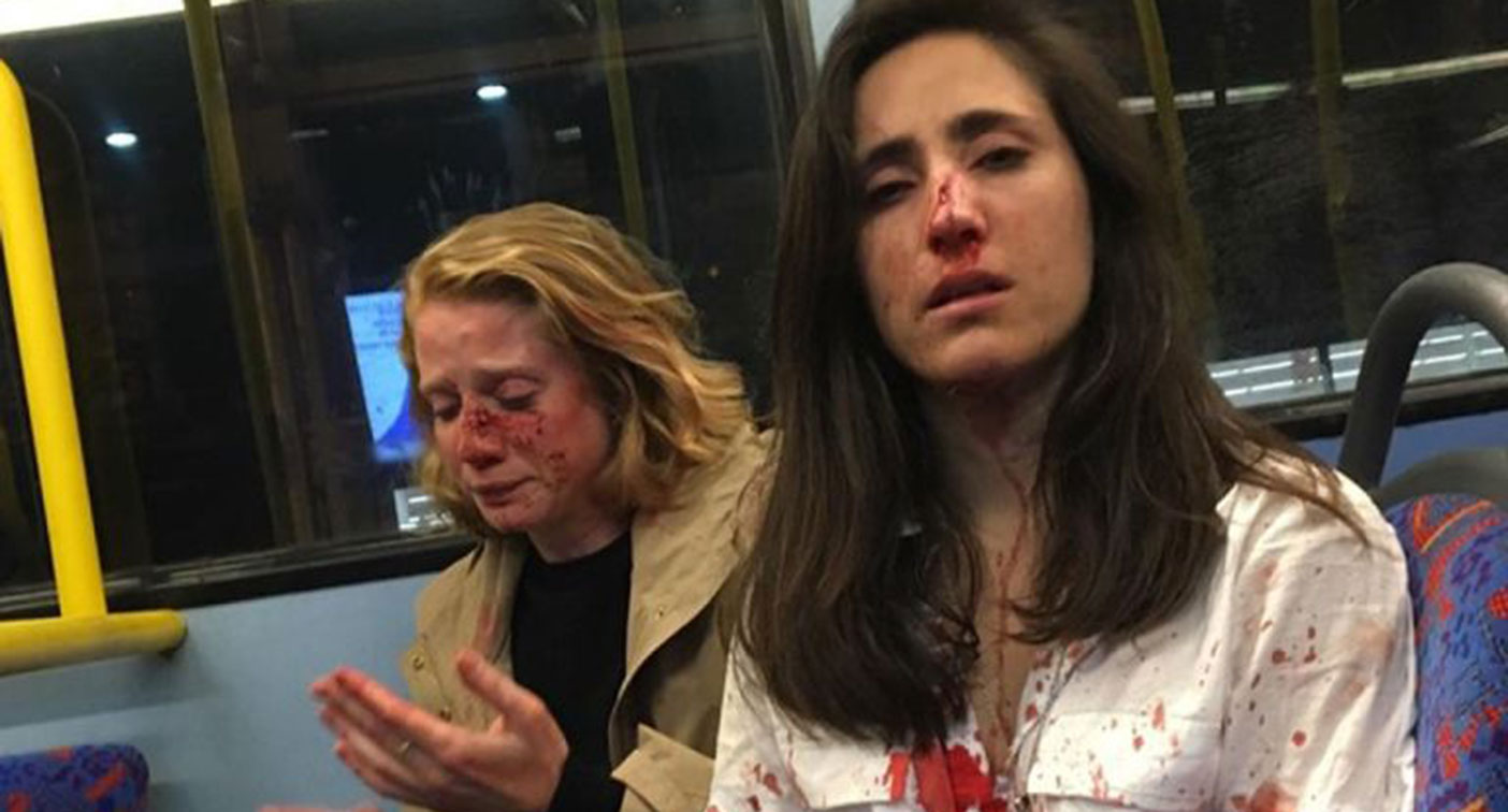 Four teenagers have bee charged for hate crimes against two women on a London night bus in May (Melania Geymonat)