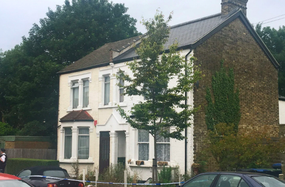 Police were called to Livingstone Road in Enfield after the stabbings. (PA)