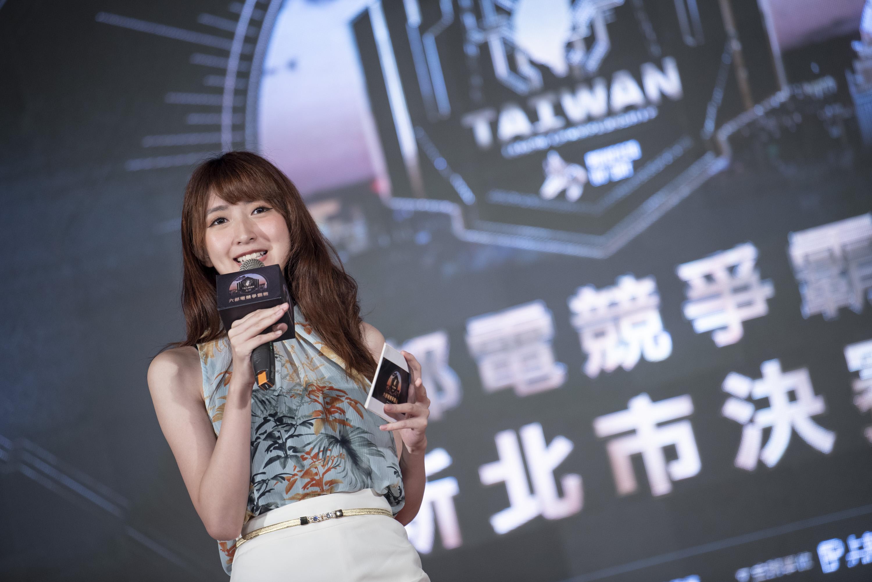 ▲台北決賽主持人小熊。(攝影:李昆翰)