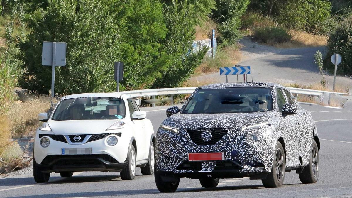 新舊款 Nissan Juke 一同現身,在網路上創造不少話題。