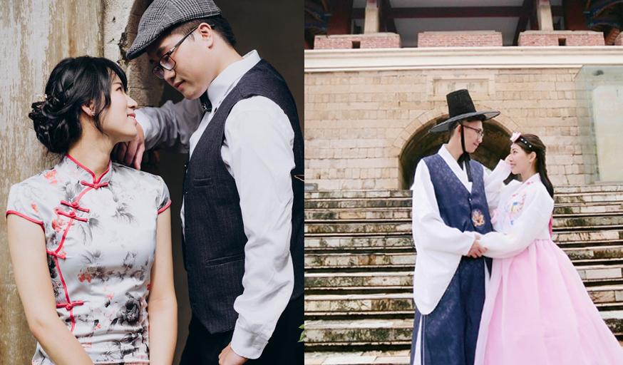 穿越時空逛台灣老街!韓服、和服、旗袍體驗美哭了