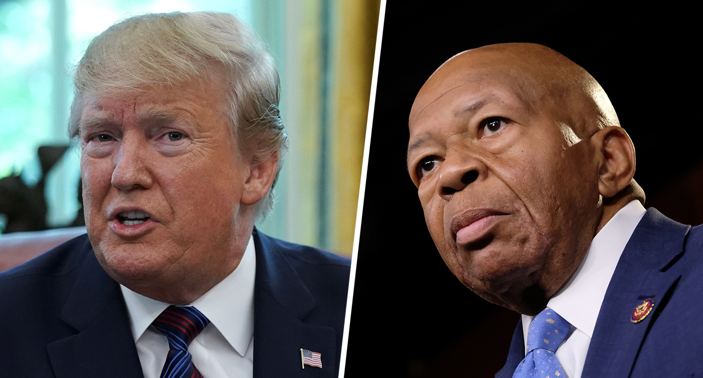 Trump doubles down on Cummings attacks, shares vulgar comment about Baltimore on Twitter