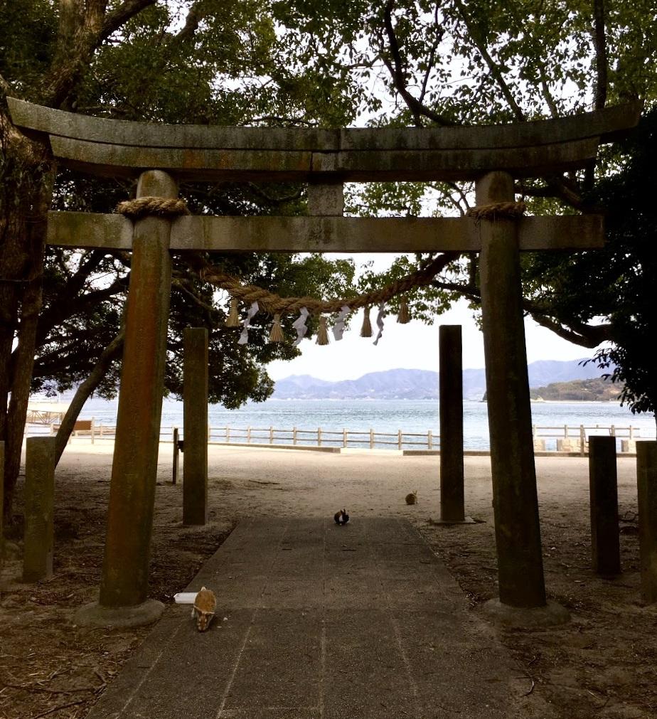 大久野島的無人神社