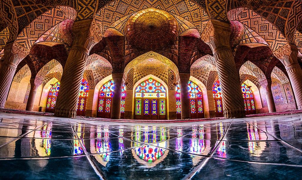 莫克清真寺 (Photo by MohammadReza Domiri Ganji, License: CC BY-SA 4.0, Wikimedia Commons提供)