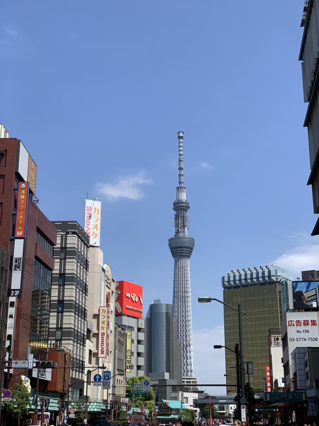 晴空塔是於日本東京都墨田區的電波塔
