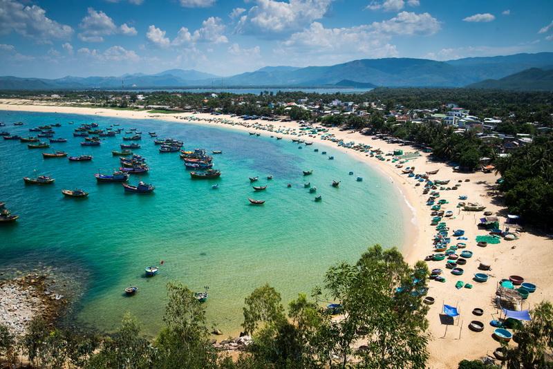 越南峴港沙灘