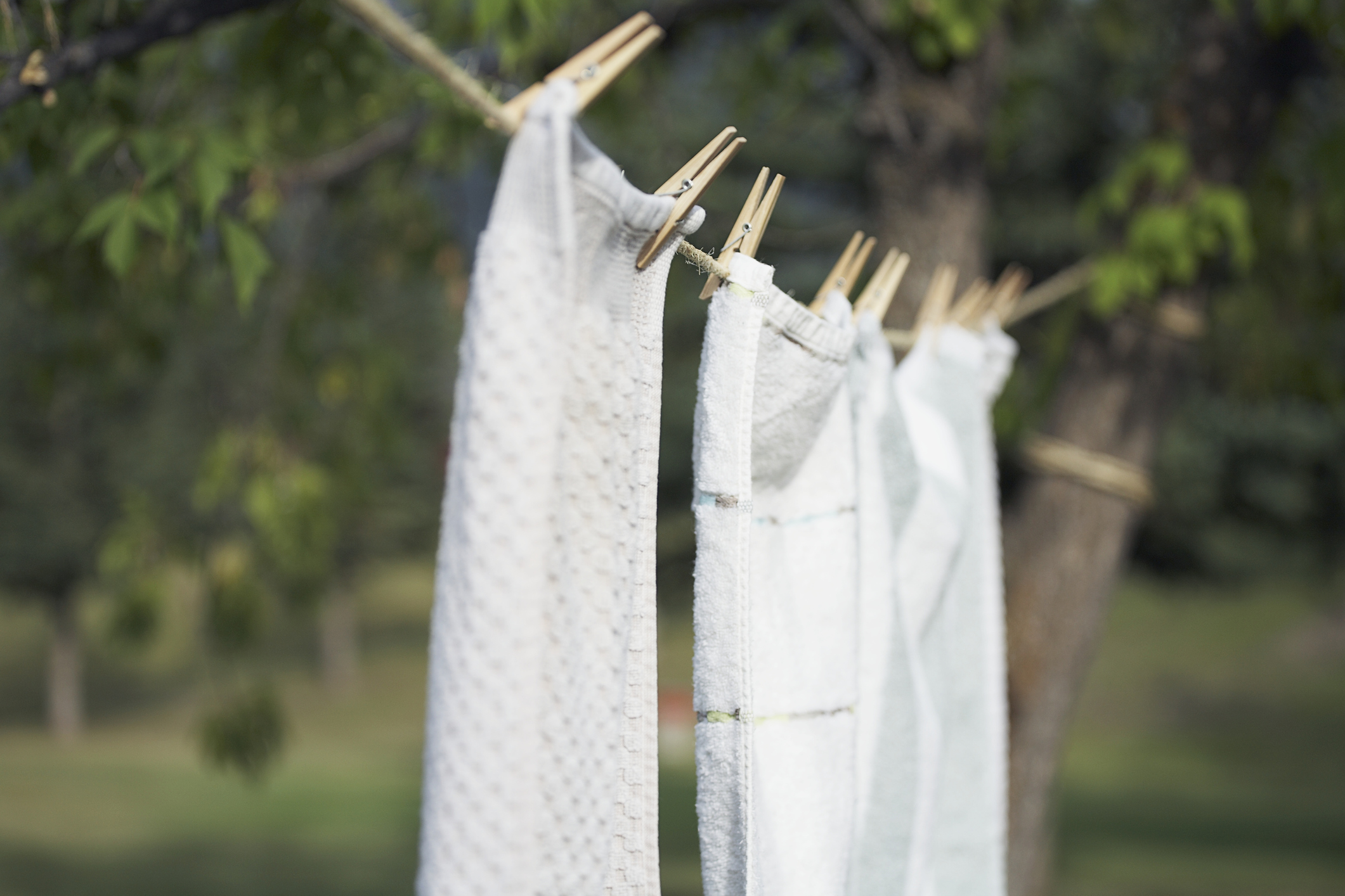 How often should we be washing our tea towels? [Photo: Getty]