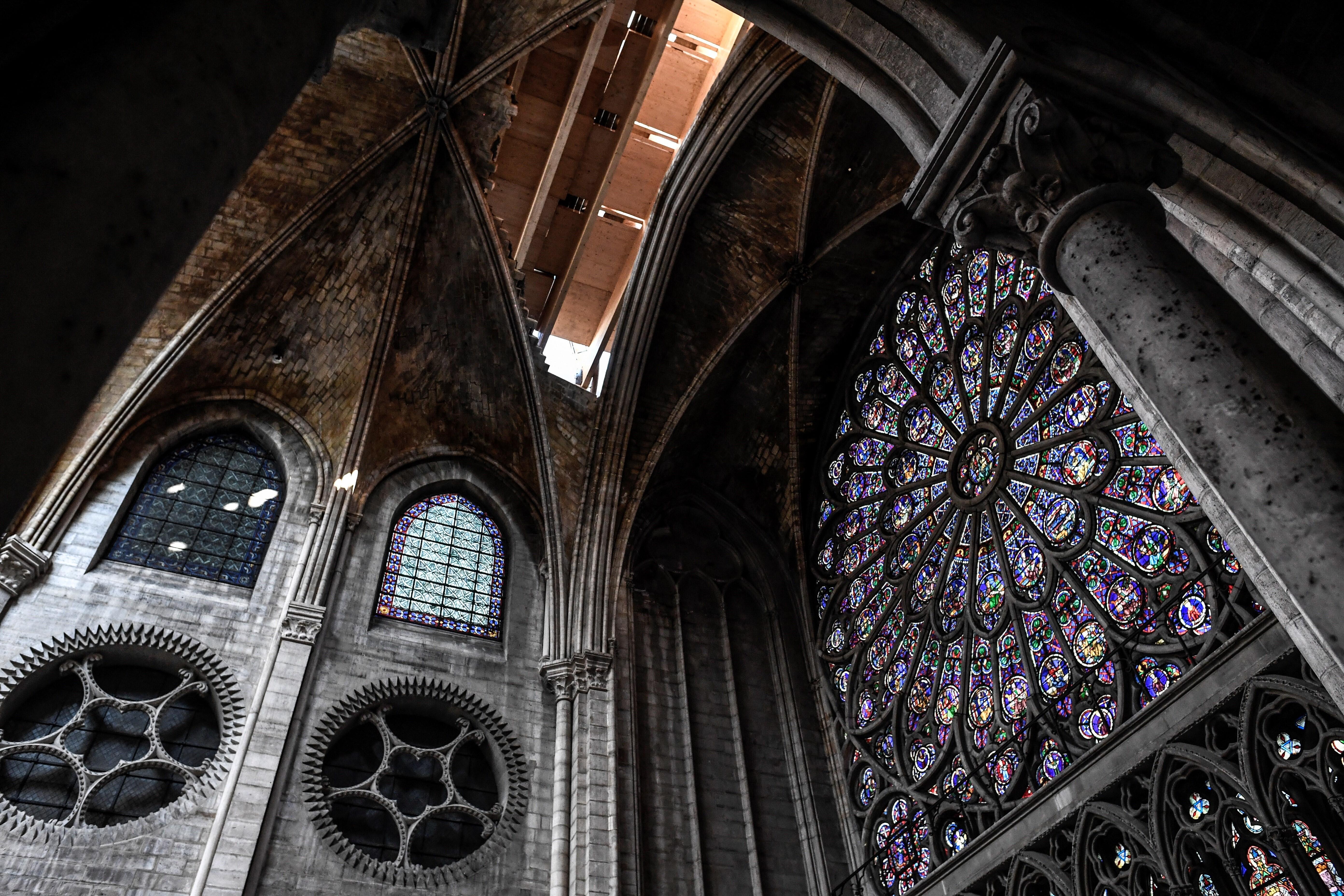 PHOTOS: Rebuilding Notre Dame