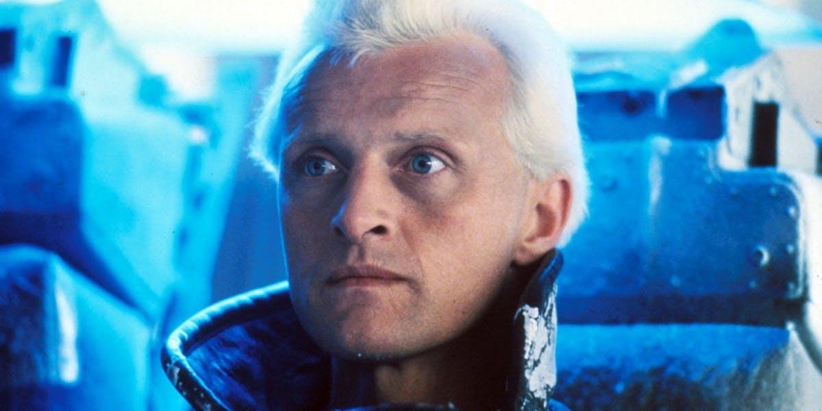 Rutger Hauer as Roy Batty in Blade Runner (Credit: Warner Bros)