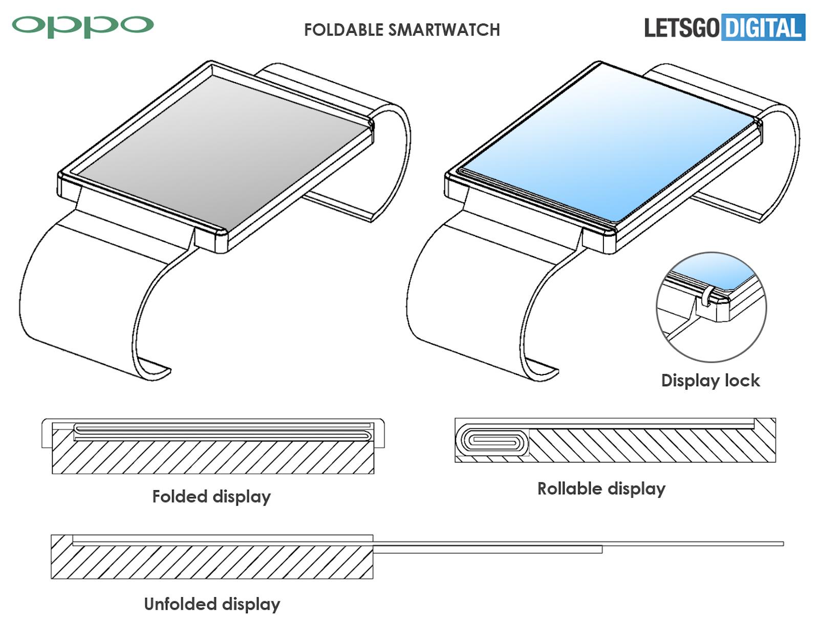OPPO Smartwatch Patent