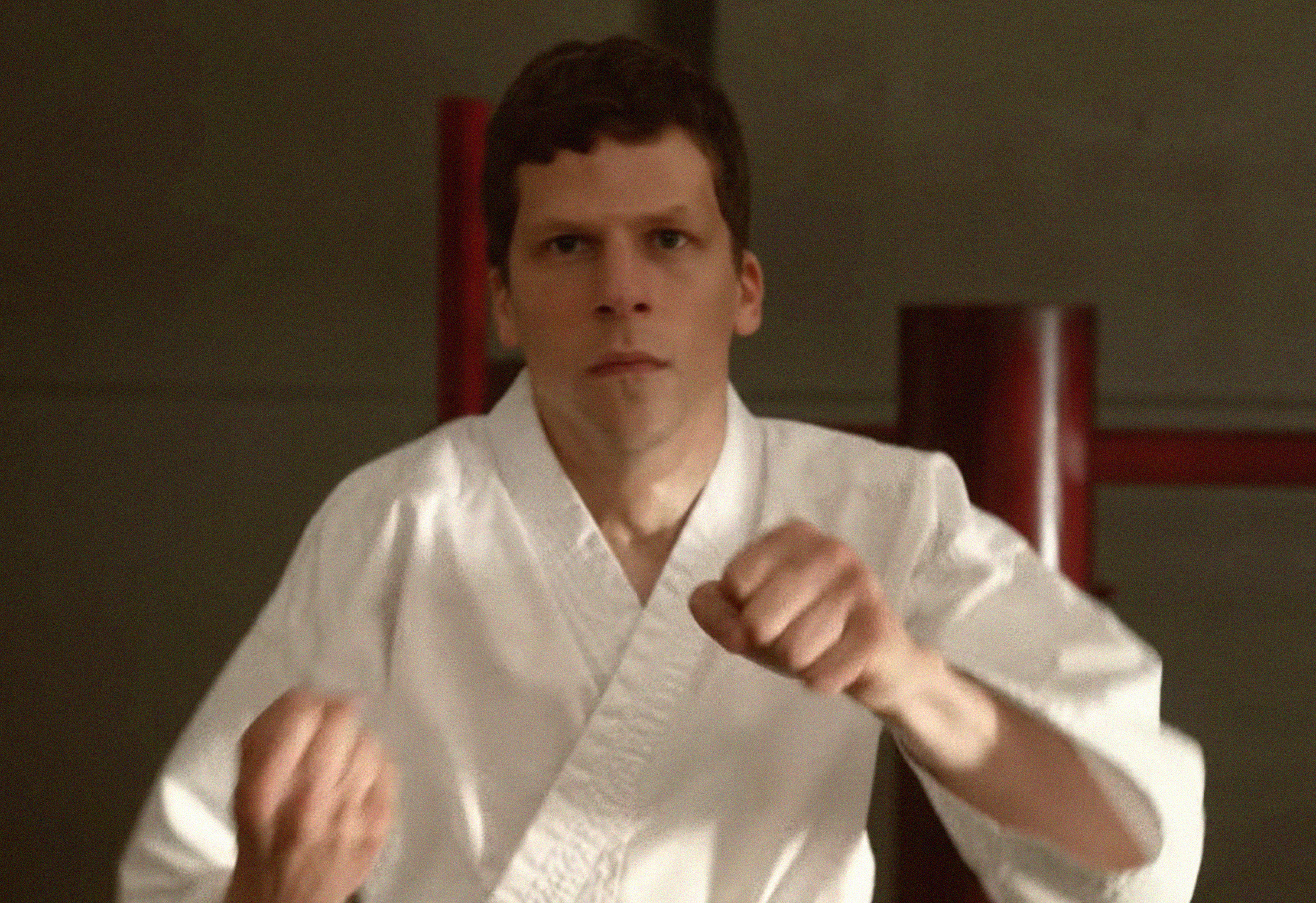 The Art of Self-Defense star Jesse Eisenberg discusses toxic masculinity and why he loved playing Lex Luthor