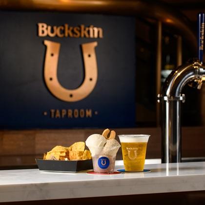 啤酒與義式冰淇淋結合。圖片提供/Buckskin柏克金餐酒集團