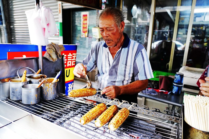 六哥烤玉米