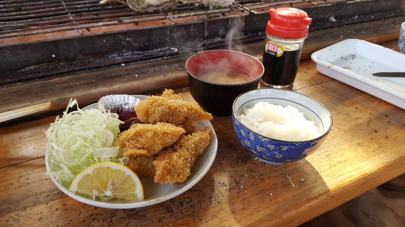 宮城牡蠣風味餐