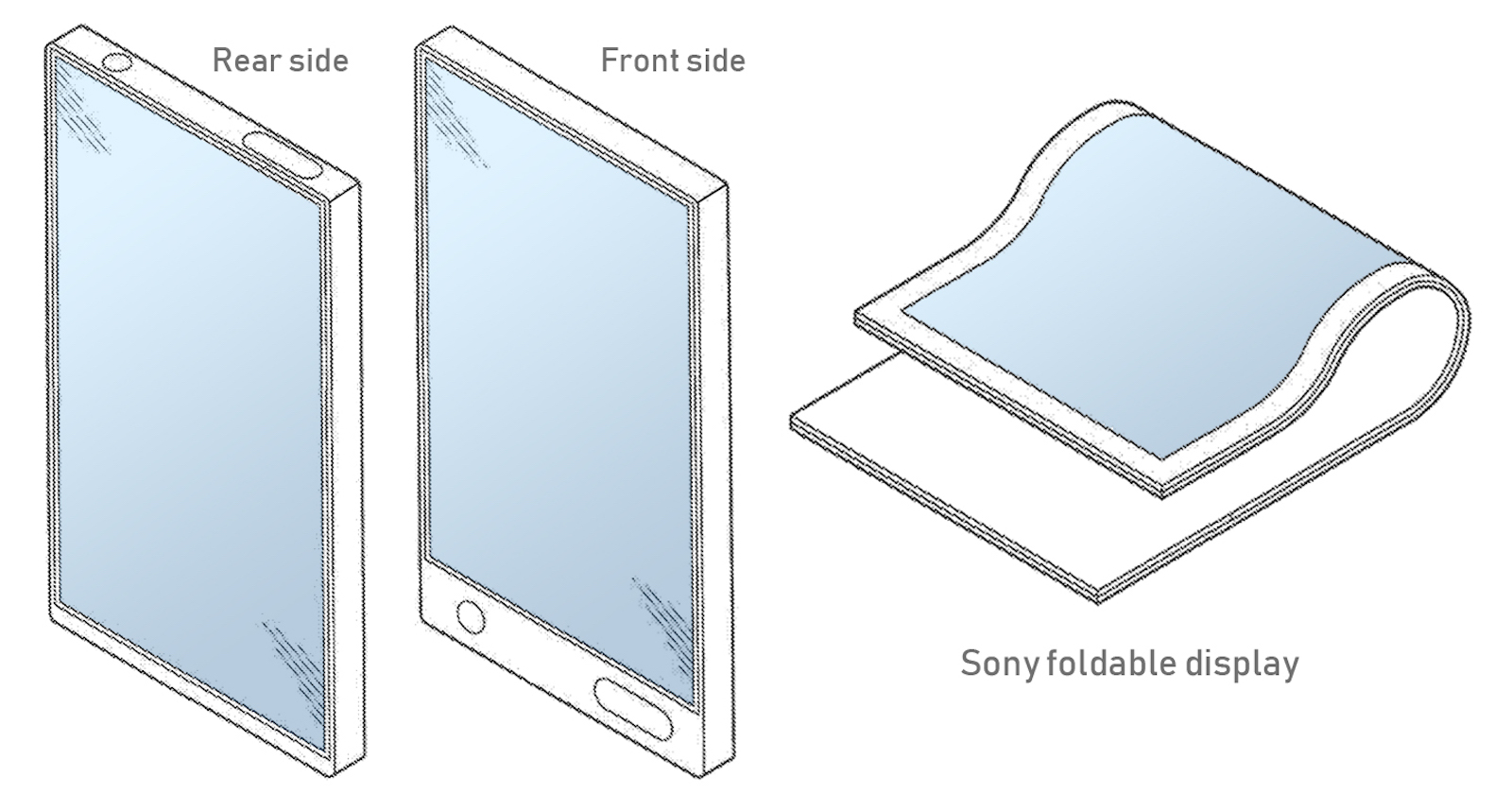 Sony Foldable Smartphone Patent