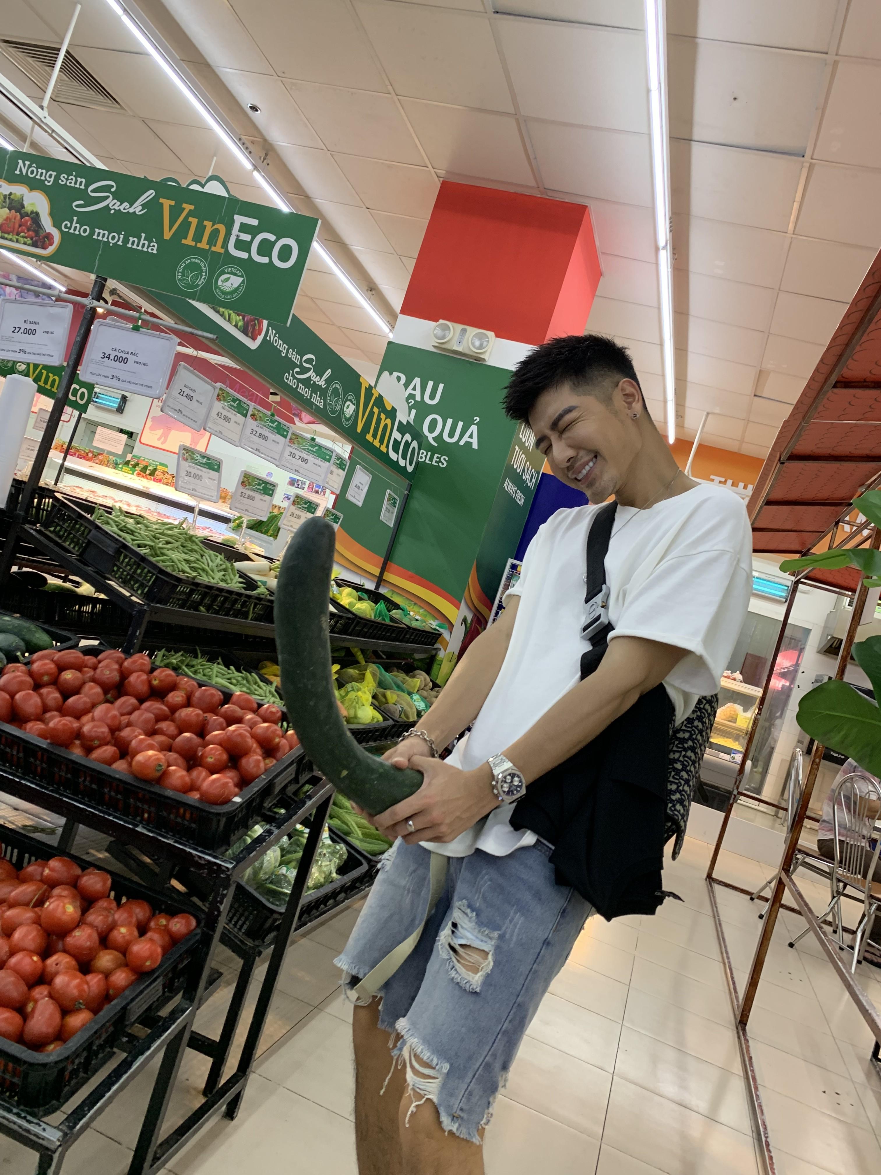 ▲森田喜歡逛當地的超市,才能更了解當地人的生活模式。