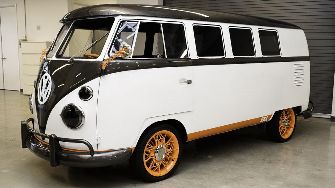 圖 / Volkswagen Type 2可說是現代廂型貨車代表,而就在上週,大眾汽車公開一款全新概念電動車- VW Type 20。