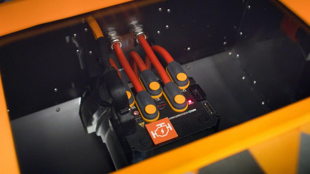 圖 / VW Type 20配置10kWh電池與一顆電動引擎,能產生120馬力與173磅-英尺扭矩。
