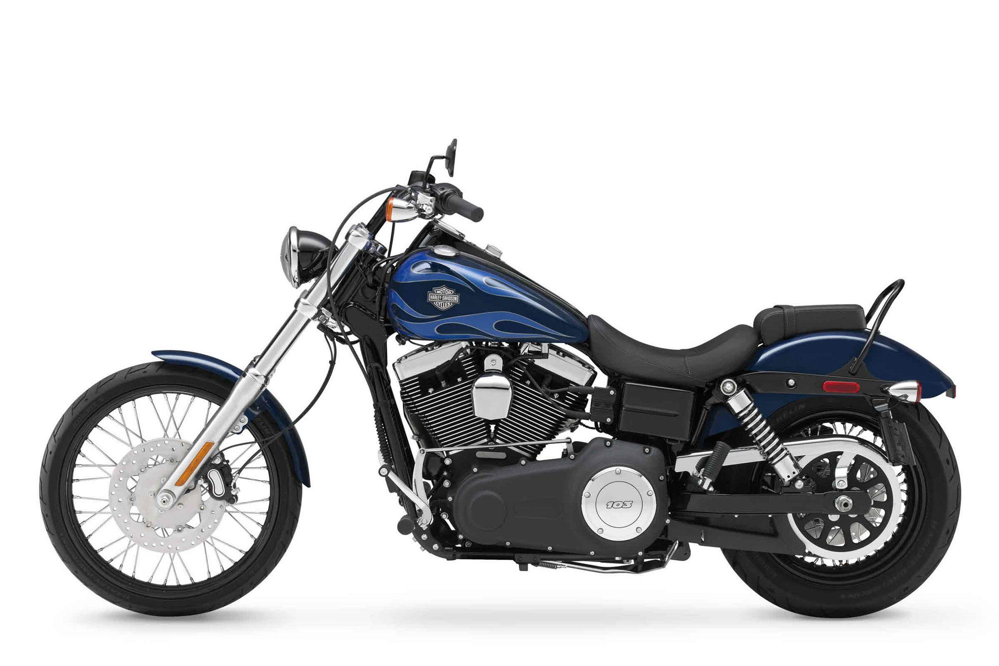 Harley-Davidson Dyna Wide Glide(圖片由原廠提供)