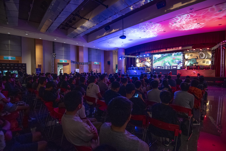 ▲新北決賽有眾多觀眾前來欣賞精采賽事。(攝影:李昆翰)