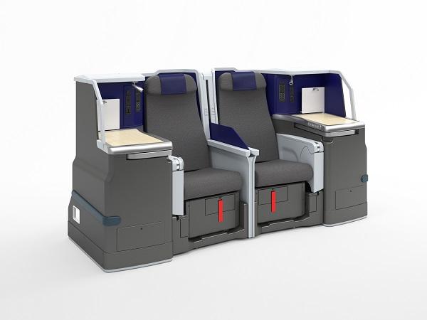 ▲商務艙導入雙人座椅,家人、情侶均可舒適相鄰。(圖/ANA)