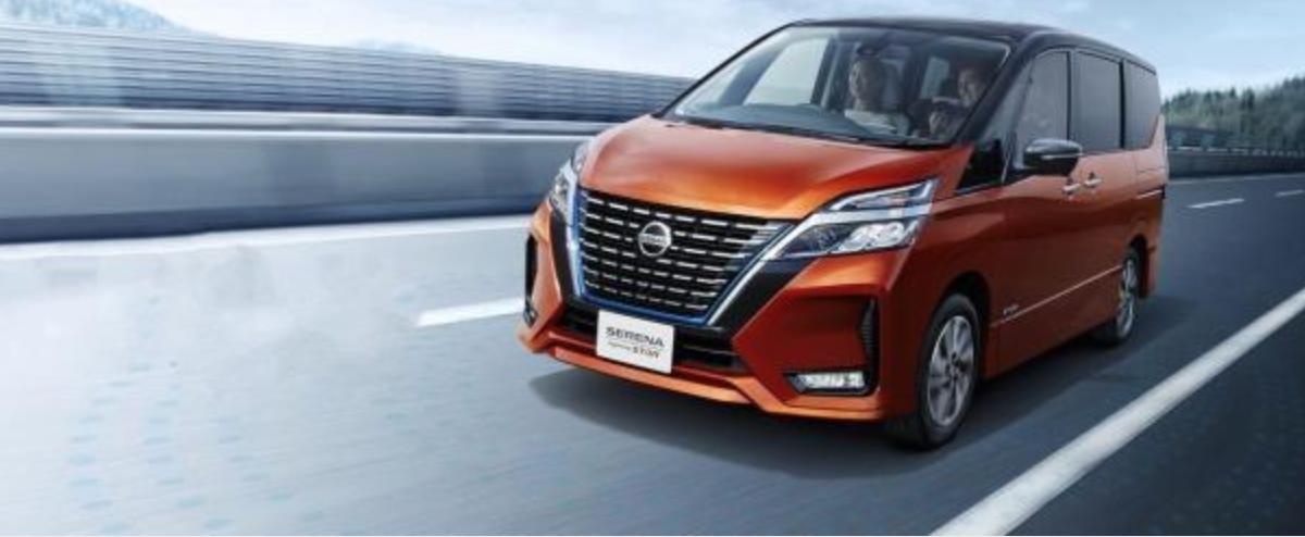 Nissan Serena 將進行改款,外型在官網上搶先曝光。