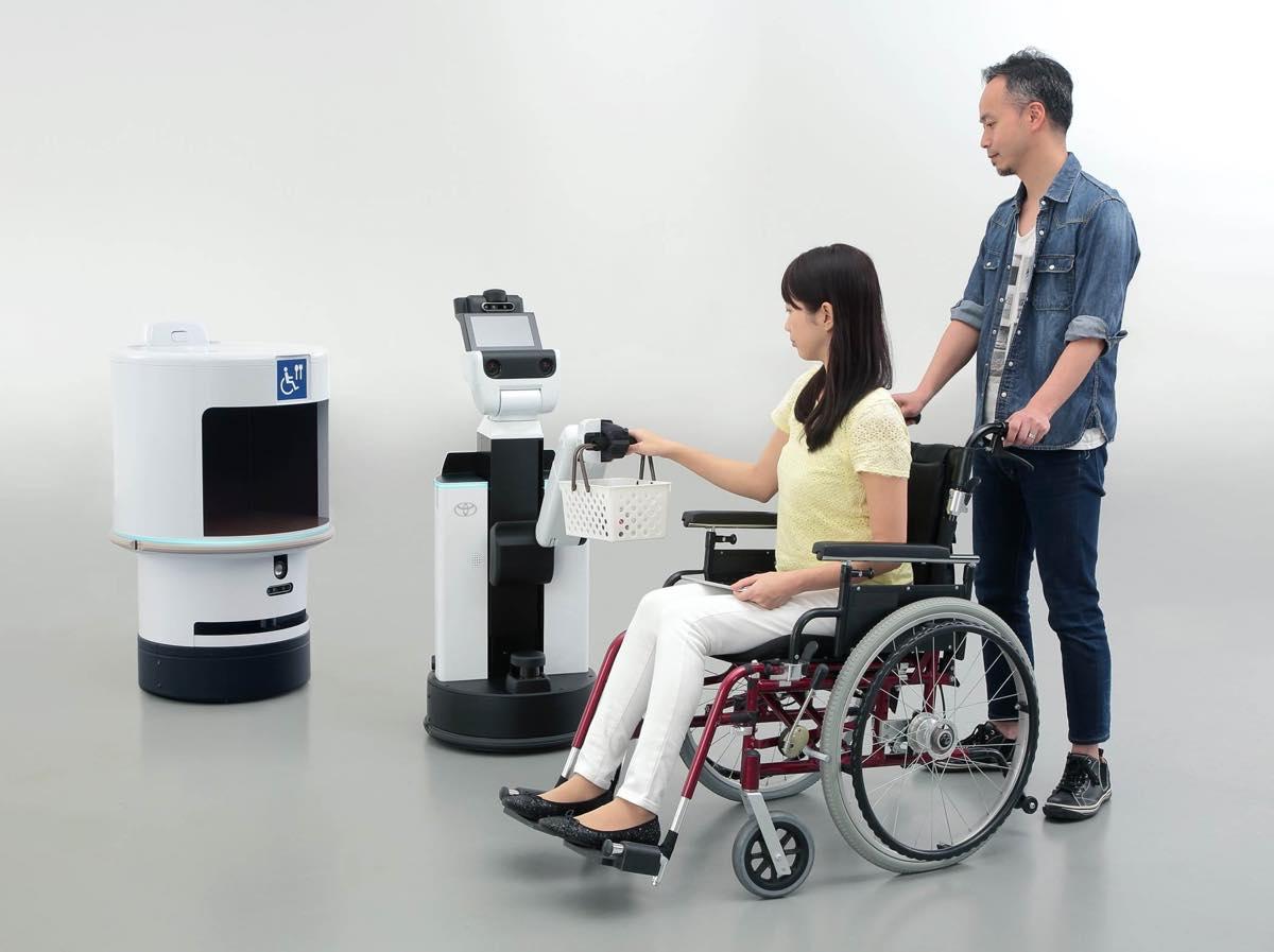 トヨタ 東京オリンピックロボット