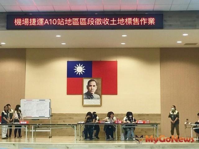 ▲A10站土地標售 單價36.7萬 成區域次高紀錄(圖:台灣房屋)