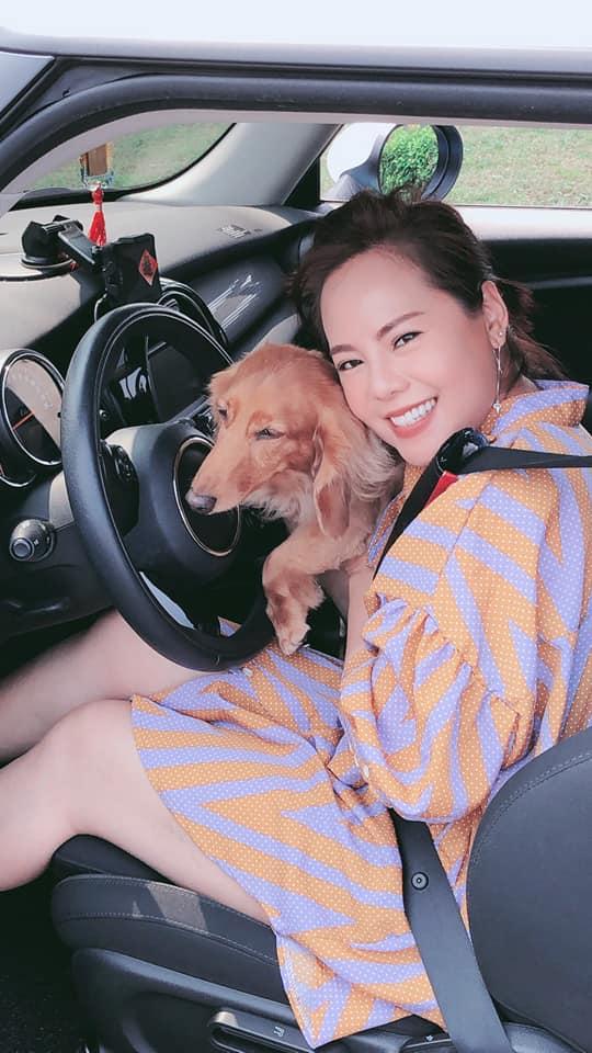 愛犬皮皮是最安靜的乘客