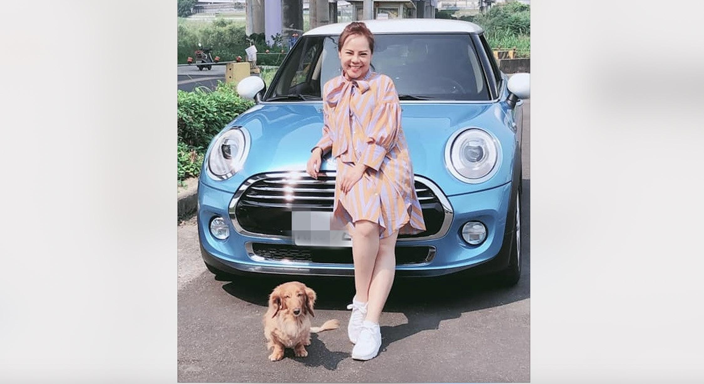 【明星聊愛車】錦雯因老公改開Mini Hatch Cooper三門掀背 竟被爸媽嫌開「不孝車」?