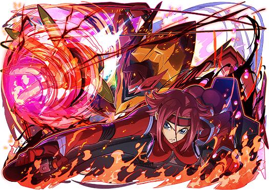▲覺醒變身後的「卡蓮&紅蓮聖天八極式 動力全開」不僅擁有超華麗專屬技能動畫,還是高倍率攻擊力的攻擊隊長,並兼具回血能力
