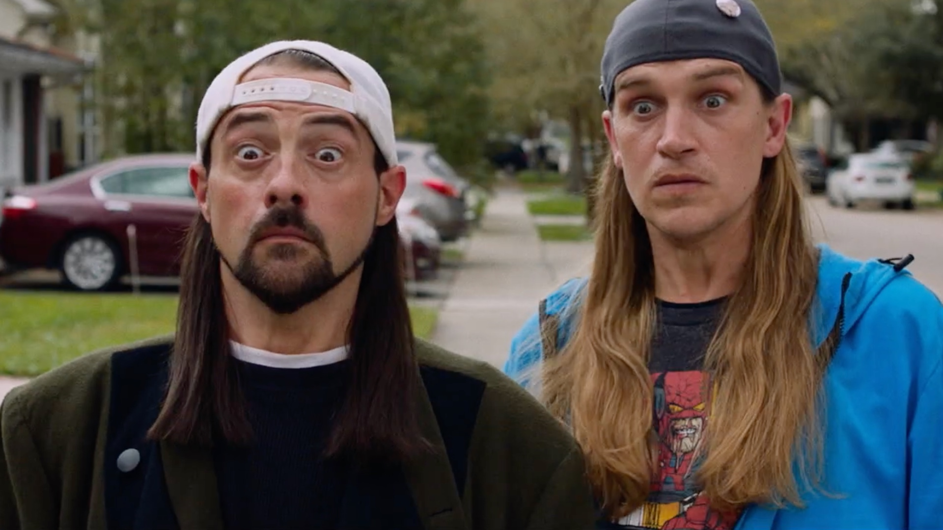 Ben Affleck and Kevin Smith reboot their friendship in the first Jay and Silent Bob Reboot trailer