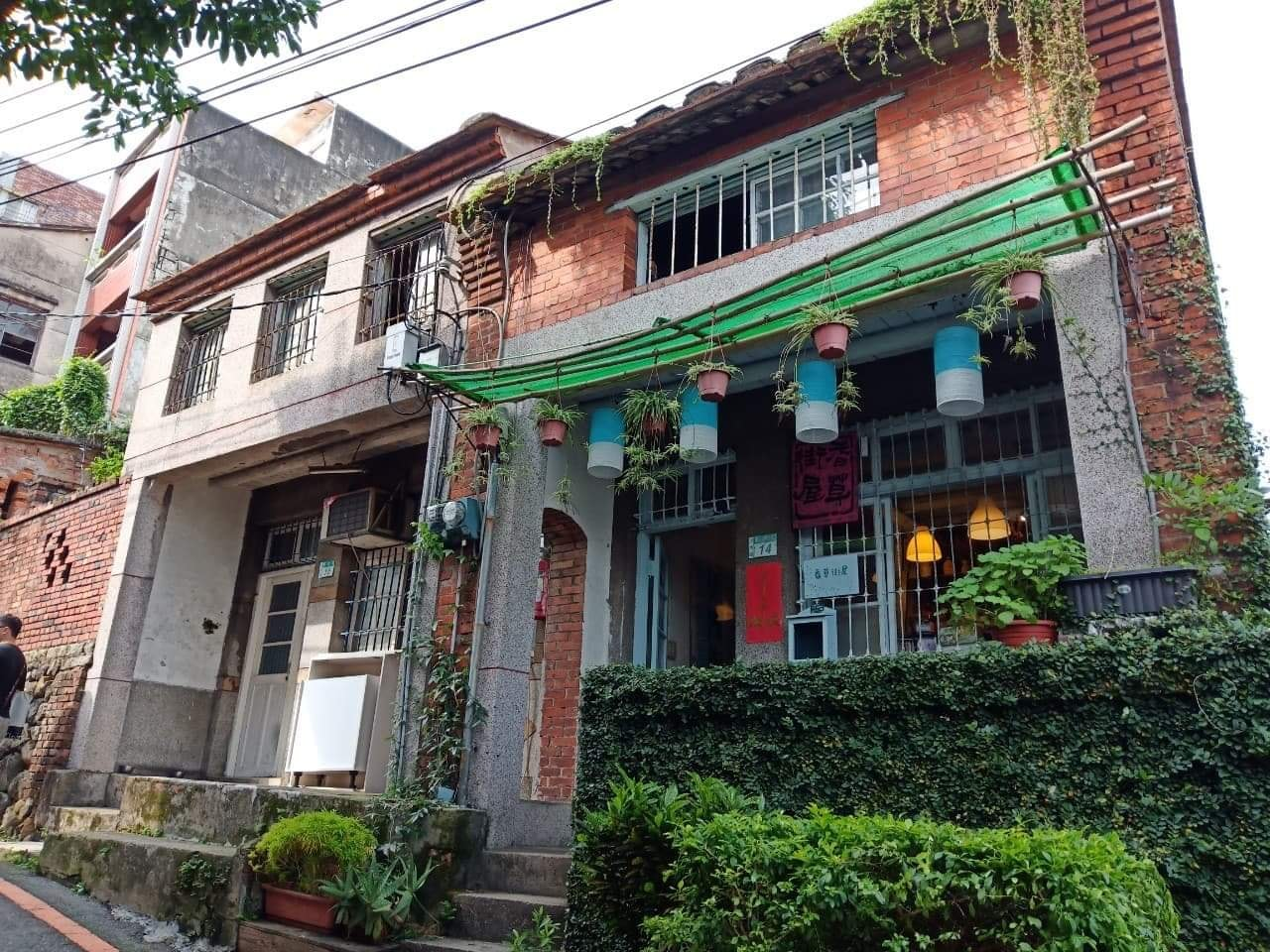 香草街屋現為市定古蹟,也是香草文化推廣教室。圖/香草街屋臉書粉絲專頁