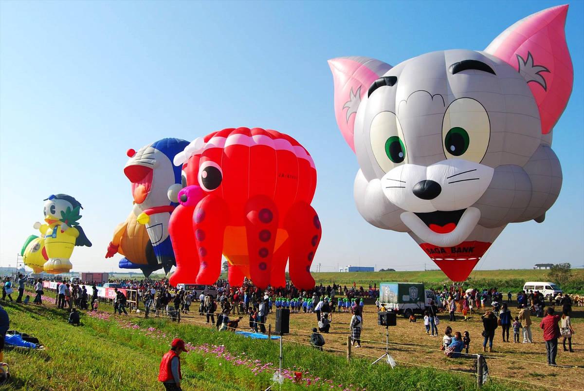 佐賀國際熱氣球節 (圖片來源:元氣佐賀)