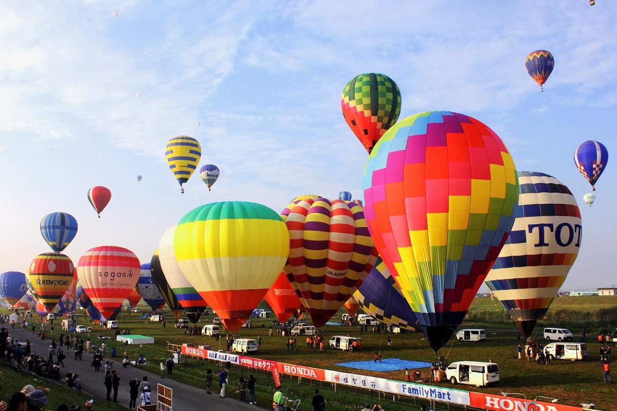 日本最大規模的熱氣球國際大會 (圖片來源:元氣佐賀)