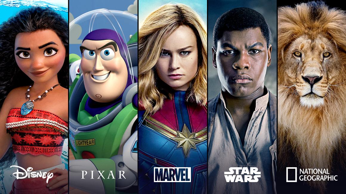 Disney+官方宣傳照