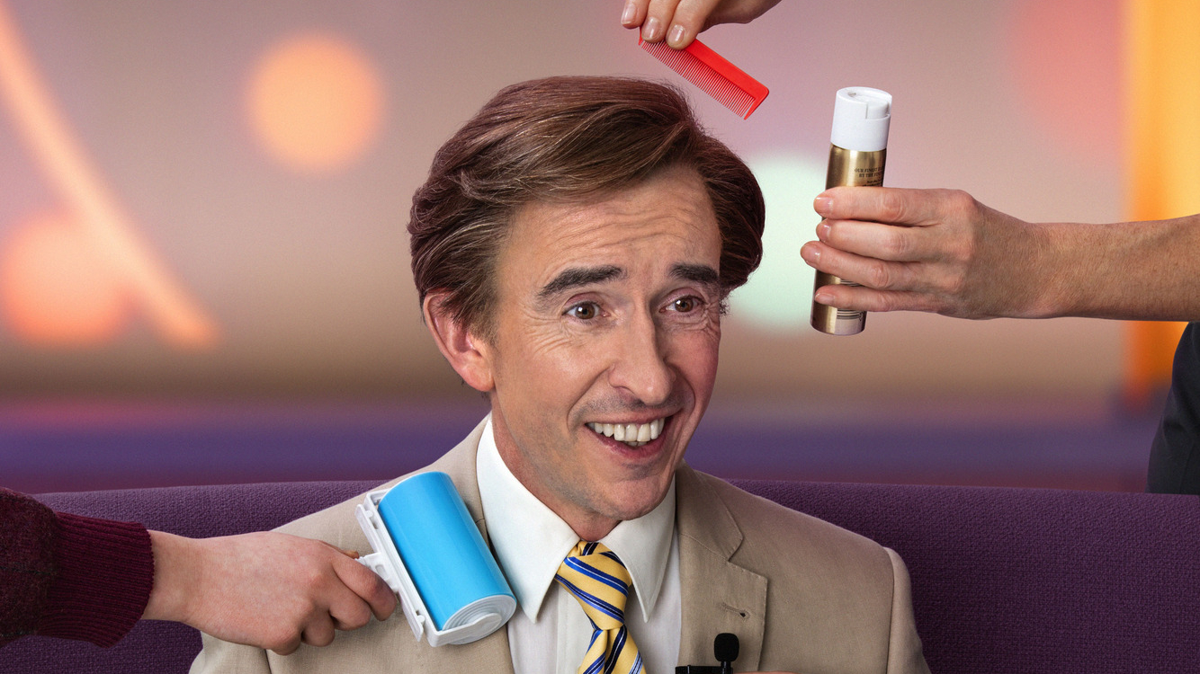 Alan Partridge returned to TV screens in 2019 with new series 'This Time'. (Credit: BBC)